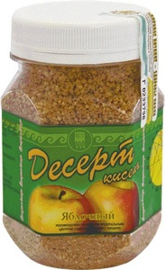 Десерт-кисель «Яблочный»