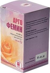 Конфеты таблетированные с растительными экстрактами «Аргофемин»