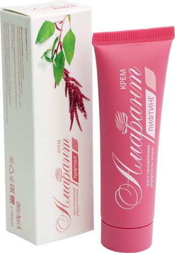 Крем Лифтинг восстановление упругости кожи «Амарант»
