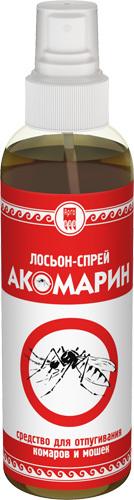 Лосьон-спрей от комаров и мошек «Акомарин»