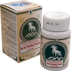 Продукт кисломолочный сухой «КуЭМсил» Детокс