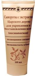Сыворотка с экстрактом царского дерева для укрепления и восстания волос